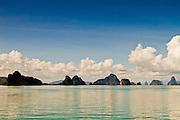 Si Phang-nga national park in Phang Nga Province in southern Thailand