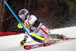 05.03.2017, Podkoren, Kranjska Gora, SLO, FIS Weltcup Ski Alpin, Kranjska Gora, Slalom, Herren, 1. Lauf, im Bild Marc Digruber (AUT) // Marc Digruber of Austria in action during his 1st run of men's Slalom of FIS ski alpine world cup at the Podkoren in Kranjska Gora, Slovenia on 2017/03/05. EXPA Pictures © 2017, PhotoCredit: EXPA/ Johann Groder