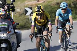 March 9, 2019 - Siena, Italy - Belgian Wout Van Aert of Team Jumbo-Visma rides the Strade Bianche one day cycling race in Siena, Italy, Saturday 09 March 2019...BELGA PHOTO YUZURU SUNADA (Credit Image: © Yuzuru Sunada/Belga via ZUMA Press)