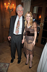 TED TURNER and ELIZABETH DEWBERRY at the 3rd Fortune Forum Summit held at The Dorchester Hotel, Park Lane, London on 3rd March 2009.