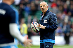 Italy head coach Conor O'Shea - Mandatory by-line: Robbie Stephenson/JMP - 26/02/2017 - RUGBY - Twickenham Stadium - London, England - England v Italy - RBS 6 Nations round three