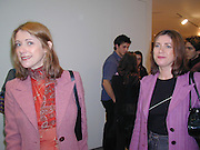 Jane and Louise Wilson. Rodney Graham. ' What is Happy, baby?' Lisson Gallery. London. 7 December 2000 © Copyright Photograph by Dafydd Jones 66 Stockwell Park Rd. London SW9 0DA Tel 020 7733 0108 www.dafjones.com
