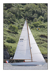 Day three of the Fife Regatta, Cruise up the Kyles of Bute to Tighnabruaich<br /> Ellad, Didier Griffiths, FRA, Bermudan Sloop, Fairlie Yacht Services 1957<br /> <br /> * The William Fife designed Yachts return to the birthplace of these historic yachts, the Scotland's pre-eminent yacht designer and builder for the 4th Fife Regatta on the Clyde 28th June–5th July 2013<br /> <br /> More information is available on the website: www.fiferegatta.com