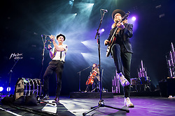 The Lumineers performs at the Montreux Jazz Festival, Switzerland on July 14, 2017. Photo by Loona/ABACAPRESS.COM