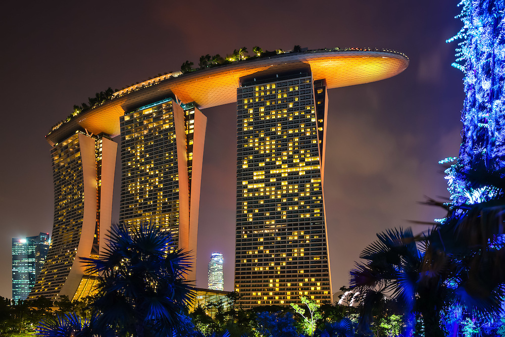 Singapore Marina Bay Sands Hotel, Asia