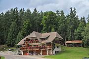 Traditional inn in Grafenhausen, Waldshut in Baden-Wurttemberg, Germany