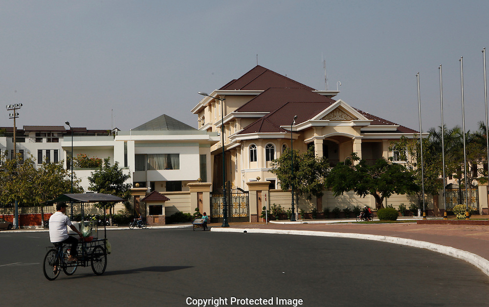 The house of the Prime Minister  in Phnom Penh, Cambodia<br /> <br /> Photo by Dennis Brack