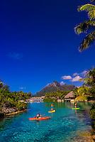 Four Seasons Resort Bora Bora, French Polynesia.