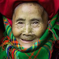 Grandma from the Red Dzao Tribe, Sapa, Vietnam
