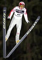 Hopp, 21. desember 2002. Verdenscup EngelbergKim-Roar Hansen, Norge<br />Foto: Raphael Nadler, Digitalsport