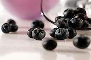 Fresh whole blueberries