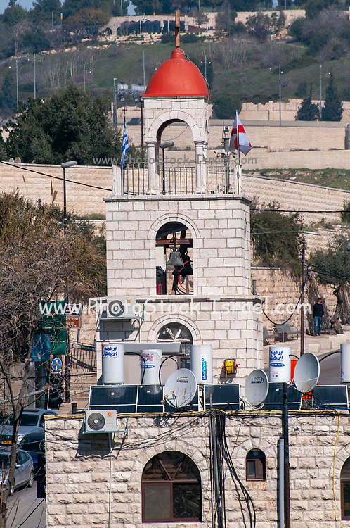 Israel, Jerusalem, The Greek Orthodox Church of St. Stephen, or The St. Stephen's Basilica, a Catholic church, located in the Kidron Valley or King's Valley,