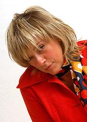 "BRUSSELS, BELGIUM - JULY-16-2006 - Belinda DeBruyn  -  Lead singer and song writer for the rock band "" Da HUSH ""."