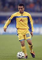 Fotball<br /> Foto: imago/Digitalsport<br /> NORWAY ONLY<br /> <br /> 06.04.2006  <br /> <br /> Miroslav Ivanov (Levski Sofia) am Ball<br /> <br /> FC Schalke 04 - PFK Levski Sofia 1:1<br /> UEFA Cup 2005/2006