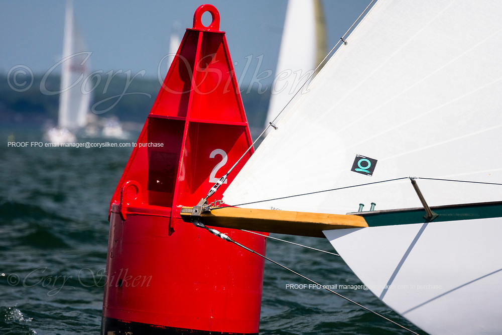 Fortune sailing in the Marblehead Corinthian Classic Yacht Regatta, day two.