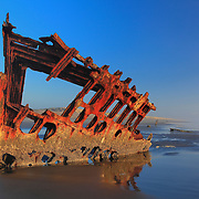 Peter Iredale Shipwreck