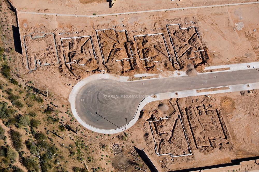 Arizona - Housing Starts - Cul de Sac