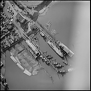 Y-580311-B10 New Shaver property north of Gunderson 4900 SW Front. March 11, 1958 (Large steamboat at dock is the steamer Portland, which is 219' in length)