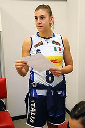 ALESSIA ORRO (ITALIA)<br /> ITALIA - KOREA<br /> PALLAVOLO VNL VOLLEY PERUGIA <br /> PERUGIA 12-06-2019<br /> FOTO GALBIATI - RUBIN