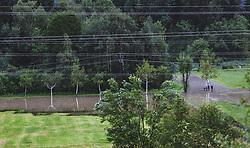29.07.2019, Zell am See, AUT, Hochwasser in Oesterreich, Salzburg, im Bild überflutete Wiesen, aufgenommen am 29. Juli 2019, Zell am See, Österreich // flooded meadows Zell am See, Austria on 2019/07/29. EXPA Pictures © 2019, PhotoCredit: EXPA/Stefanie Oberhauser