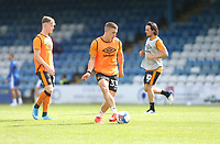 Hull City's Greg Docherty during the warm-up<br /> <br /> Photographer Rob Newell/CameraSport<br /> <br /> The EFL Sky Bet League One - Gillingham v Hull City - Saturday September 12th 2020 - Priestfield Stadium - Gillingham<br /> <br /> World Copyright © 2020 CameraSport. All rights reserved. 43 Linden Ave. Countesthorpe. Leicester. England. LE8 5PG - Tel: +44 (0) 116 277 4147 - admin@camerasport.com - www.camerasport.com
