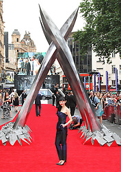 © Licensed to London News Pictures. Rila Fukushima at The Wolverine UK film premiere, Leicester Square, London UK, 16 July 2013. Photo by Richard Goldschmidt/LNP