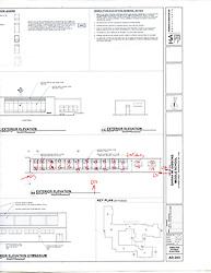 Sarah Gibbons Middle School Pre-Demolition Documentation. Key Plan Number 15 of 15