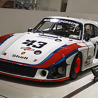"#43 Porsche 935/78 ""Moby Dick"" here at the Porsche Museum in 2010"