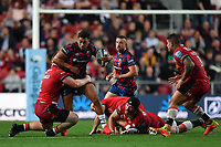 Rugby Union - 2021 / 2022 Gallagher Premiership - Round One - Bristol vs Saracens - Ashton Gate - Friday 17th September 2021<br /> <br /> Bristol Bears' Charles Piutau in action during this evening's game.<br /> <br /> COLORSPORT/Ashley Western