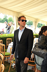 DAN PHILIPSON at a charity polo match organised by Jaeger Le Coultre was held at Ham Polo Club, Richmond, Surrey on 12th June 2009.