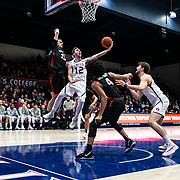Feb 07 2019 Moraga CA, U.S.A.  St. Mary's guard Tommy Kuhse (12) drives to the basket during the NCAA Men's Basketball game between Pacific Tigers and the Saint Mary's Gaels 78-66 win at McKeon Pavilion Moraga Calif. Thurman James / CSM