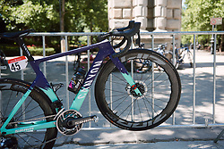 CANYON//SRAM Racing at the 2020 Clasica Feminas De Navarra, a 122.9 km road race starting and finishing in Pamplona, Spain on July 24, 2020. Photo by Sean Robinson/velofocus.com