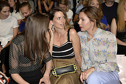 "July 4, 2018 - Berlin, Deutschland - Alexandra Maria Lara, Eva Padberg, Nadine Warmuth.RIANI Fashion Show ""RIANIsta's BIG DREAM'', MBFW, Berlin, Germany - 04 Jul 2018 (Credit Image: © face to face via ZUMA Press)"