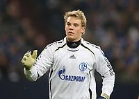 Photo: Maarten Straetemans/Sportsbeat Images.<br /> Shalke 04 v Chelsea. UEFA Champions League. 06/11/2007.<br /> Goalkeeper Manuel Neuer of Schalke