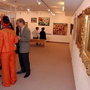 Expositie opening Huizer Museum Huizen  Koeien van Mauve tot Felius