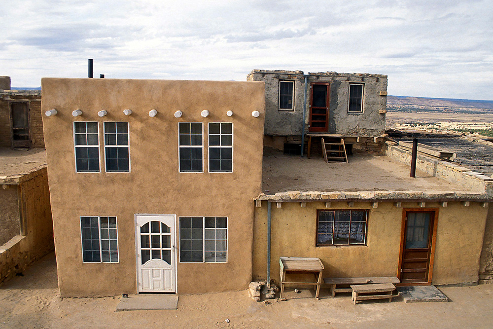 """Acoma """"Sky City"""" Pueblo in New Mexico occupied since 1300's with no utilities available. ©Bob Daemmrich"""