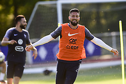May 24, 2018 - Clairefontaine, France, France - joie d Olivier Giroud (Credit Image: © Panoramic via ZUMA Press)