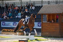 Raateland Geert-Jan, NED, VMF Gladiator<br /> Nederlands Kampioenschap dressuur<br /> Ermelo 2020<br /> © Hippo Foto - Sharon Vandeput<br /> 20/09/2020
