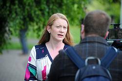 Lochgelly High School Exam results<br /> <br /> Shirley-Anne Somerville gets interviewd at Lochgelly High school<br /> <br /> (c) David Wardle | Edinburgh Elite media