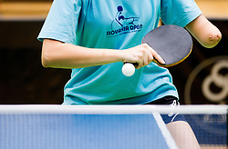 Feature at 9th Slovenia Open - Thermana Lasko 2012 - Table Tennis Tournament for the Disabled, on May 12, 2012, in Dvorana Tri Lilije, Lasko, Slovenia. (Photo by Vid Ponikvar / Sportida.com)