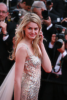 Vanessa Hessler at the The Homesman gala screening red carpet at the 67th Cannes Film Festival France. Sunday 18th May 2014 in Cannes Film Festival, France.