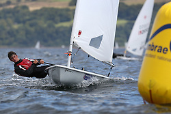 Day 4 NeilPryde Laser National Championships 2014 held at Largs Sailing Club, Scotland from the 10th-17th August.<br /> <br /> 128764, Jack AITKEN<br /> <br /> Image Credit Marc Turner