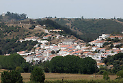 Aspect of the village of Aljezur, Algarve. The southwest coast of Portugal, from cape St vincente, at the Algarve, until up to Zambujeira do Mar, at the Alentejo, is said to be among the most unspoiled coastlines of Europe.