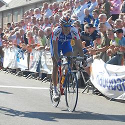 RIJSSEN (NED) wielrennen<br />Marco Bos (Roden) wint de ronde van Overijssel