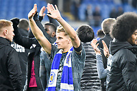 Football - 2018 / 2019 Premier League - Cardiff City vs. Leicester City<br /> <br /> in Leicster's 1st match since the death of Vichai Srivaddhanaprabha, at Cardiff City Stadium.<br /> <br /> COLORSPORT/WINSTON BYNORTH