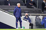 Tottenham Hotspur Head Coach Jose Mourinho during the EFL Cup Fourth Round match between Tottenham Hotspur and Chelsea at Tottenham Hotspur Stadium, London, United Kingdom on 29 September 2020.
