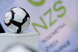 Ball at official presentation of Slovenian National Football team for World Cup 2010 South Africa, on May 21, 2010 in Congress Center Brdo at Kranj, Slovenia. (Photo by Vid Ponikvar / Sportida)