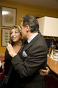 EVE POLLARD AND PETER YORK, Launch of Crosley Bespoke Diamond Studs. Annabels. London. 15 November 2007. -DO NOT ARCHIVE-© Copyright Photograph by Dafydd Jones. 248 Clapham Rd. London SW9 0PZ. Tel 0207 820 0771. www.dafjones.com.