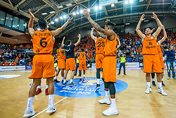 24-11-2017 NED: WC qualification Netherlands - Croatia, Almere<br /> First Round - Group D at the arena Topsportcentrum / Nederland bedankt het publiek