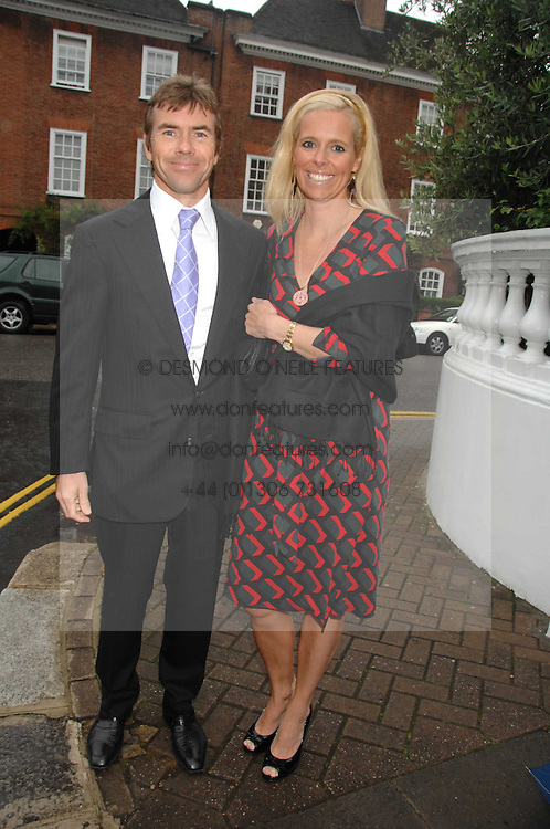 PAUL & VICTORIA STEWART he is the son of Jackie Stewart at the annual Sir David & Lady Carina Frost Summer Party in Carlyle Square, London SW3 on 5th July 2007.<br /><br />NON EXCLUSIVE - WORLD RIGHTS